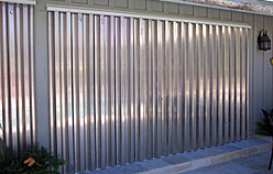 We offer .040, .050 and .060 gauge mill finish aluminum storm panels and we are one of a very few companies that offer half panels.