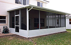 We have helped homeowners across South Florida expand their comfort zone through a screen porch.